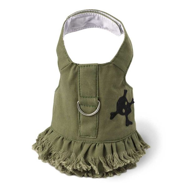 D-Ring Harness Dress for Biewer Terrier