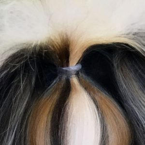 Knotless Hair Wrap Clear Color