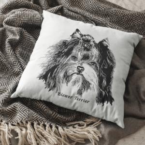 Biewer Terrier Pillow Case Sir Remington