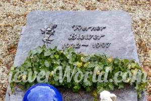 Werner Biewer's Grave in Hirschfeld